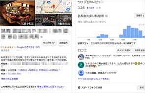 MEO対策サービス内容 Googleマイビジネスの登録・代行
